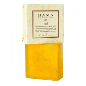 Buy Kama Ayurveda Heal Revitalising Soap - Nykaa