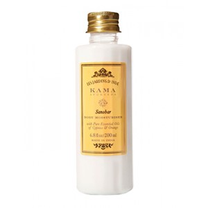 Buy Herbal Kama Ayurveda Sanobar Body Moisturiser - Nykaa