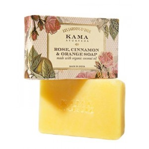 Buy Kama Ayurveda Rose, Orange & Cinnamon Soap - Nykaa