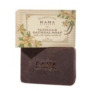 Buy Kama Ayurveda Vanilla & Oatmeal Soap - Nykaa