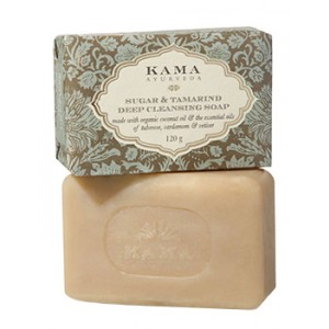 Buy Kama Ayurveda Sugar & Tamarind Ayurvedic Deep Cleansing Soap - Nykaa