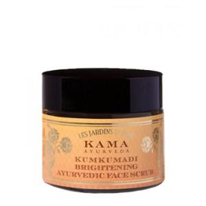 Buy Kama Ayurveda Kumkumadi brightening Ayurvedic Face Scrub - Nykaa