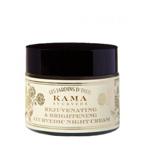 Buy Kama Ayurveda Rejuvenating & Brightening Ayurvedic Night Cream - Nykaa
