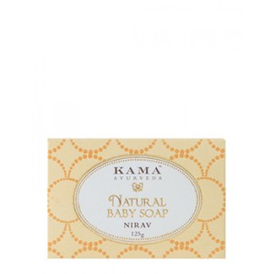 Buy Kama Ayurveda Natural Baby Soap Nirav - Nykaa