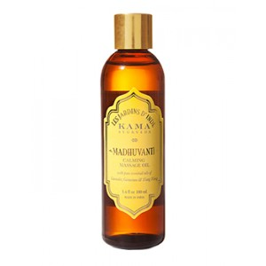 Buy Herbal Kama Ayurveda Madhuvanti Calming Massage Oil - Nykaa