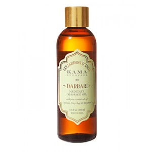 Buy Herbal Kama Ayurveda Darbari Meditate Massage Oil - Nykaa