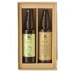 Buy Kama Ayurveda Face Care Gift Box For Men - Nykaa