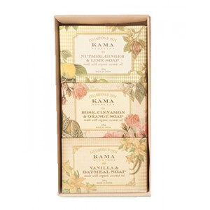 Buy Kama Ayurveda Natural Soap Gift Box - Nykaa