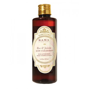 Buy Herbal Kama Ayurveda Rose And Jasmine Body Cleanser - Nykaa