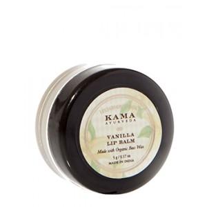 Buy Kama Ayurveda Vanilla Lip Balm - Nykaa