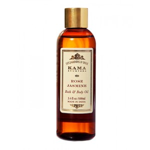 Buy Kama Ayurveda Rose Jasmine Bath and Body Oil - Nykaa