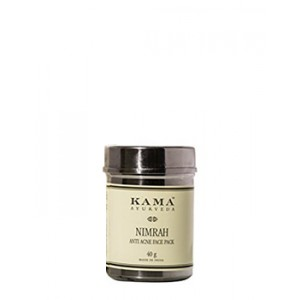 Buy Herbal Kama Ayurveda Nimrah Anti Acne Face Pack - Nykaa