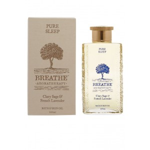 Buy Breathe Aromatherapy Pure Sleep Bath And Skin Oil - 100ml - Nykaa