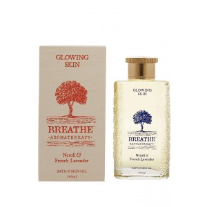 Buy Breathe Aromatherapy Glowing Skin Bath And Skin Oil - Nykaa