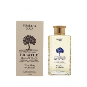 Buy Breathe Aromatherapy Healthy Hair Massage Oil - Nykaa