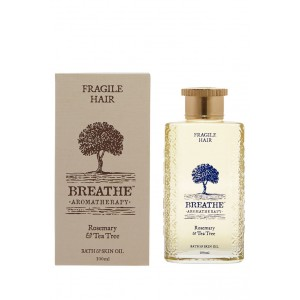 Buy Breathe Aromatherapy Fragile Hair Massage Oil - 100ml - Nykaa