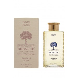 Buy Breathe Aromatherapy Inner Peace Meditation Bath And Skin Oil - Nykaa