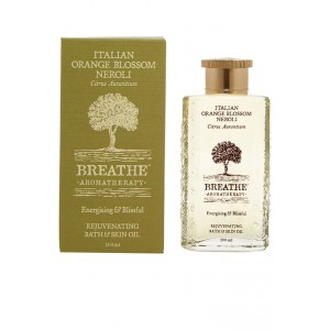 Buy Breathe Aromatherapy Italian Orange Blossom Neroli Bath And Skin Oil - Nykaa