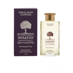 Buy Breathe Aromatherapy Himalayan Flowers Bath And Skin Oil - Nykaa