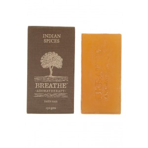 Buy Breathe Aromatherapy Indian Spices Soap - Nykaa