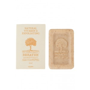 Buy Breathe Aromatherapy Natural Vitamin E Exfoliating Soap - Nykaa