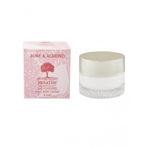 Buy Breathe Aromatherapy Rose And Almond Body Cream - Nykaa