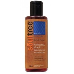 Buy SoulTree Wild Amla, Aloe & Rejuvenating Manjishtha Shower Gel - Nykaa