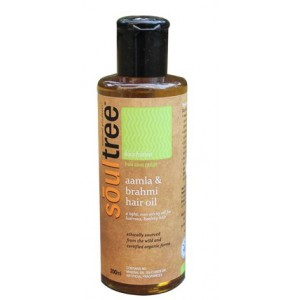 Buy SoulTree Aamla & Brahmi Hair Oil - Nykaa