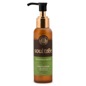 Buy SoulTree Revitalising Hair oil - Nykaa