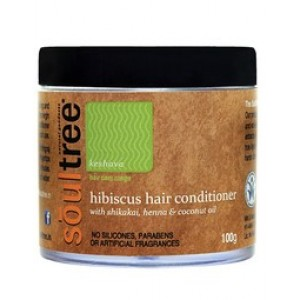 Buy SoulTree Hibiscus Hair Conditioner with Shikakai, Henna and Coconut Oil - Nykaa