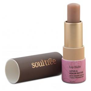 Buy SoulTree Lotus & Kokum Butter Lip Balm - Nykaa