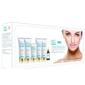 Buy Richfeel Skin Logix Whitening Facial Kit For Women with Rice Protiens (Set of 6) - Nykaa