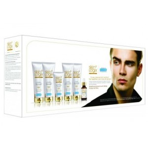 Buy Richfeel Skin Logix Redefine Facial Kit for Men with Barley Protien (Set of 6)  - Nykaa