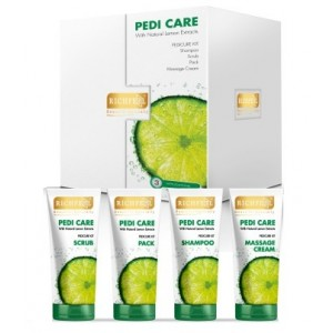 Buy Richfeel Pedi Care Kit With Natural Lemon Extracts  - Nykaa