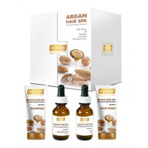 Buy Richfeel Argan Hair Spa Kit - Nykaa