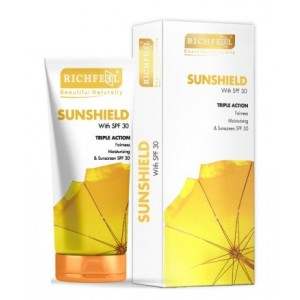 Buy Richfeel Sunshield With SPF 30 - Nykaa