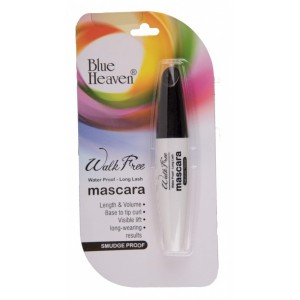 Buy Blue Heaven Walk Free Mascara (Water Proof - Long Lash) - White Pack - Nykaa