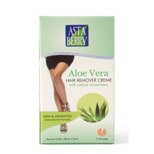 Buy Astaberry Aloe Vera Hair Remover Cream - (40 gm) - Nykaa