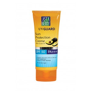 Buy Astaberry UV Guard Sun Protection - SPF 50 (100 ml) - Nykaa