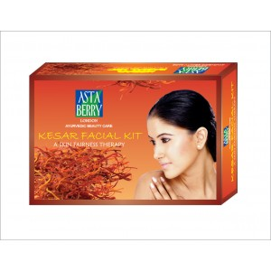 Buy Astaberry Kesar Facial Big Kit - Nykaa