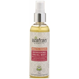 Buy Azafran Organics Multi Fruit Refreshing Facial Mist - Nykaa