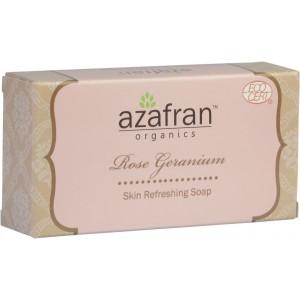 Buy Azafran Organics Rose Geranium Soap - Nykaa