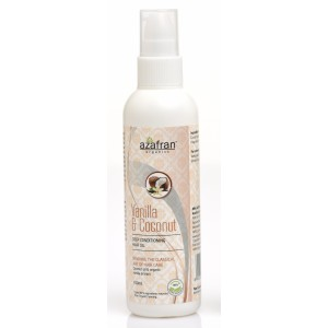 Buy Azafran Organics Vanilla & Coconut Hair Oil - Nykaa