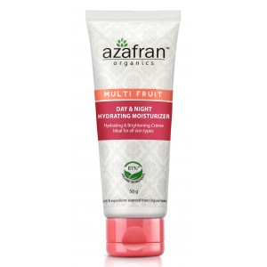 Buy Azafran Organics Multi Fruit Day & Night Hydrating Moisturizer - Nykaa