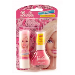 Buy Barbie Lip Balm Strawberry Offer Pack - Nykaa