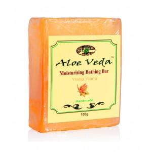 Buy Herbal Aloe Veda  Moisturising Bathing Bar - Ylang Ylang - Nykaa