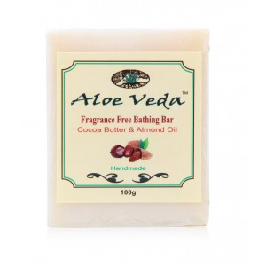 Buy Aloe Veda  Luxury Butter Bar - Fragrance Free with Cocoa Butter & Almond Oil - Nykaa