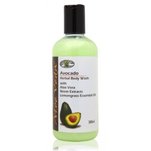 Buy Aloe Veda  Avocado Herbal Body Wash - Nykaa