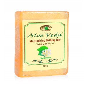Buy Aloe Veda  Moisturising Bathing Bar - Wild Jasmine - Nykaa