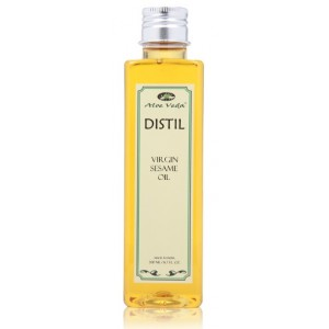 Buy Aloe Veda Massage Oil - Virgin Sesame Oil - Nykaa